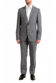"""Hugo Boss Men's """"August/Higgings182"""" Extra Slim Fit 100% Wool Two Button Suit: Picture 2"""