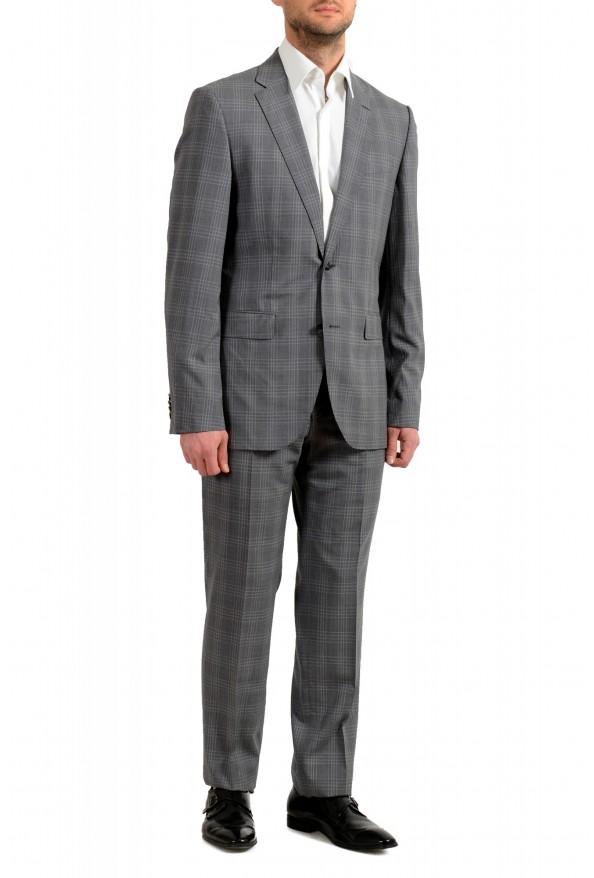 """Hugo Boss Men's """"Jeckson/Lenon1"""" Regular Fit 100% Wool Plaid Two Button Suit: Picture 2"""