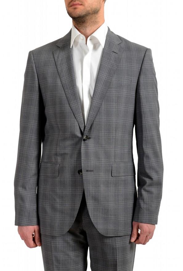 """Hugo Boss Men's """"Jeckson/Lenon1"""" Regular Fit 100% Wool Plaid Two Button Suit: Picture 4"""