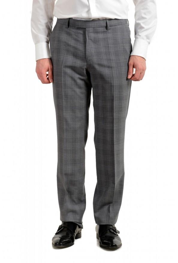"""Hugo Boss Men's """"Jeckson/Lenon1"""" Regular Fit 100% Wool Plaid Two Button Suit: Picture 8"""