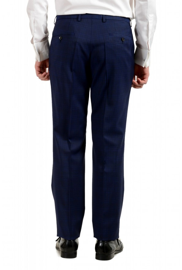 "Hugo Boss Men's ""Johnstons5/Lenon1"" Regular Fit 100% Wool Blue Two Button Suit: Picture 10"