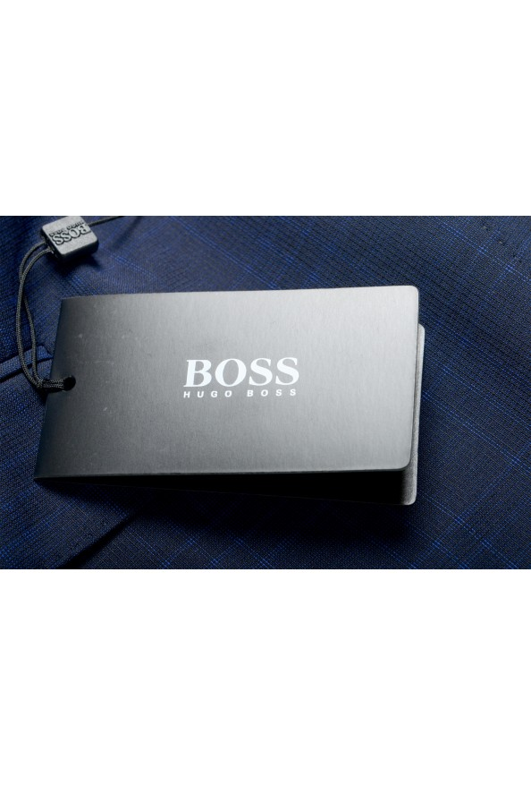 "Hugo Boss Men's ""Johnstons5/Lenon1"" Regular Fit 100% Wool Blue Two Button Suit: Picture 11"