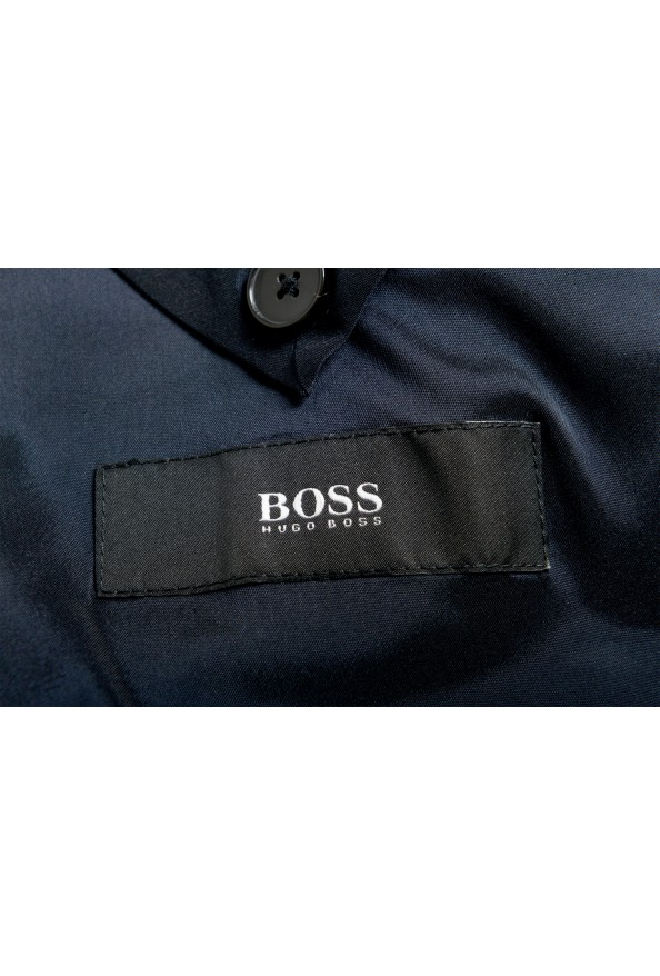 "Hugo Boss Men's ""Johnstons5/Lenon1"" Regular Fit 100% Wool Blue Two Button Suit: Picture 12"