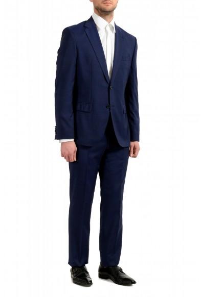 "Hugo Boss Men's ""Johnstons5/Lenon1"" Regular Fit 100% Wool Blue Two Button Suit: Picture 2"