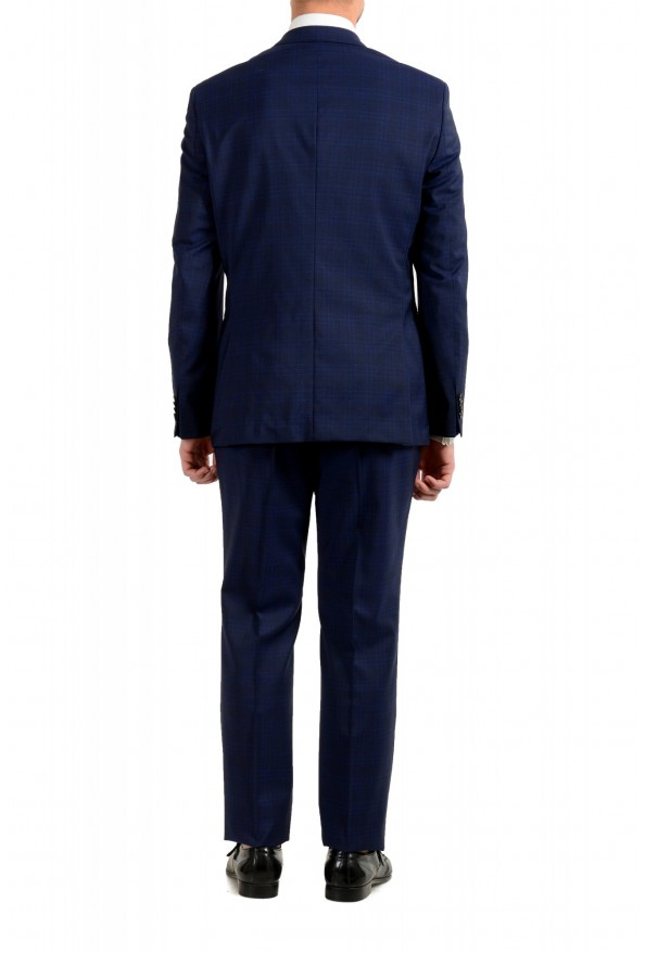 "Hugo Boss Men's ""Johnstons5/Lenon1"" Regular Fit 100% Wool Blue Two Button Suit: Picture 3"