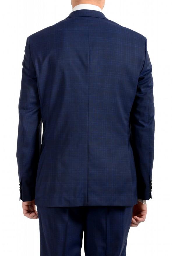 "Hugo Boss Men's ""Johnstons5/Lenon1"" Regular Fit 100% Wool Blue Two Button Suit: Picture 6"