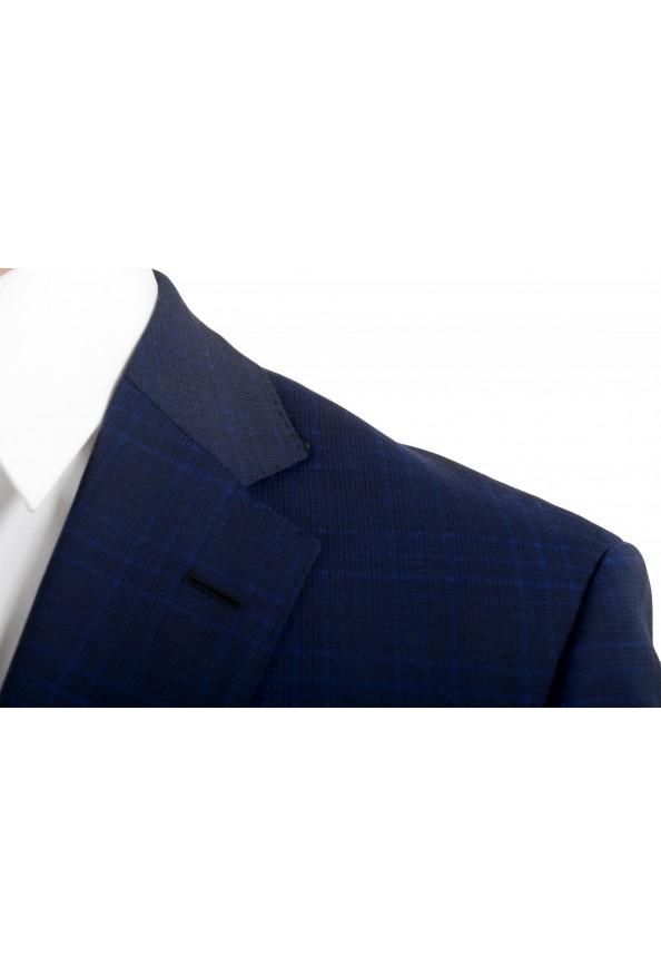 "Hugo Boss Men's ""Johnstons5/Lenon1"" Regular Fit 100% Wool Blue Two Button Suit: Picture 7"