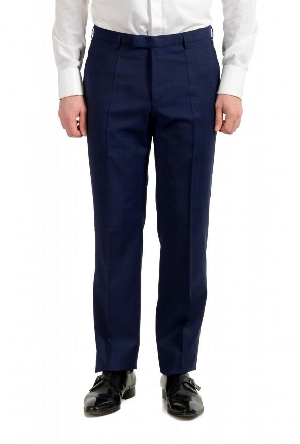 "Hugo Boss Men's ""Johnstons5/Lenon1"" Regular Fit 100% Wool Blue Two Button Suit: Picture 8"