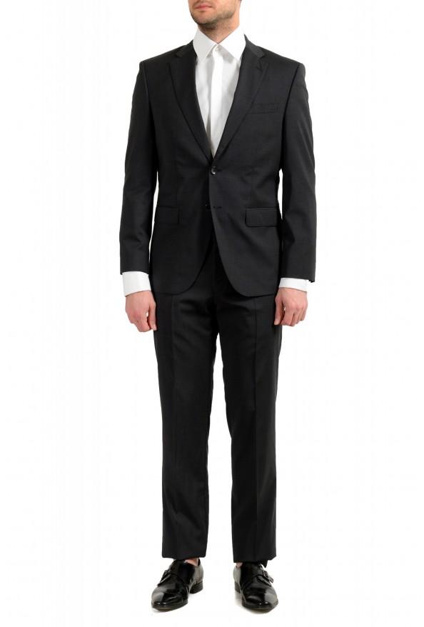 """Hugo Boss Men's """"Phoenix/Madisen"""" Comfort Fit 100% Wool Gray Two Button Suit"""