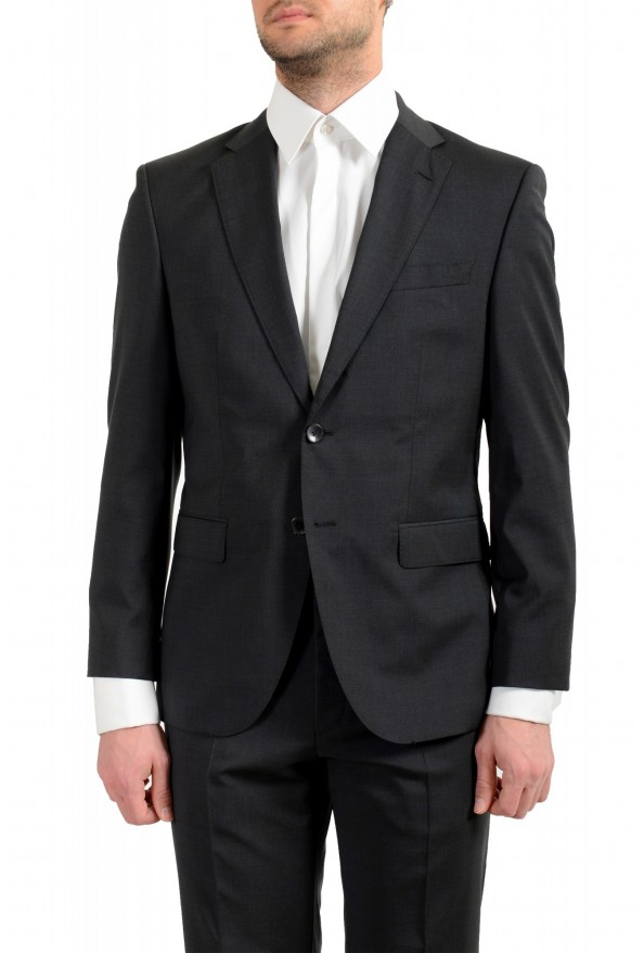 "Hugo Boss Men's ""Phoenix/Madisen"" Comfort Fit 100% Wool Gray Two Button Suit: Picture 4"