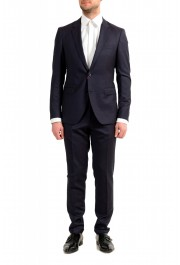 """Hugo Boss Men's """"August/Higgings182"""" Extra Slim Fit 100% Wool Two Button Suit"""