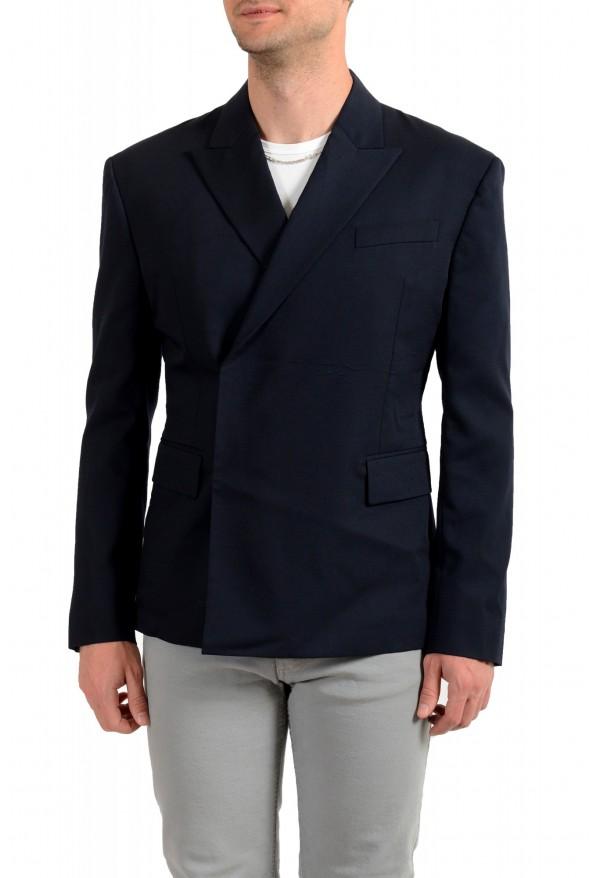 "Dsquared2 & ""Mert & Marcus 1994"" Men's 100% Wool Navy Blue Blazer"