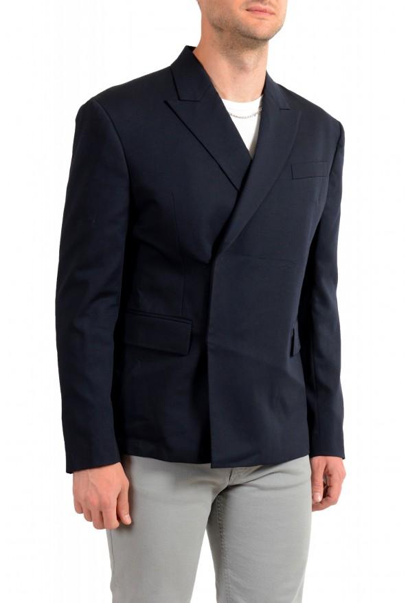 "Dsquared2 & ""Mert & Marcus 1994"" Men's 100% Wool Navy Blue Blazer: Picture 2"