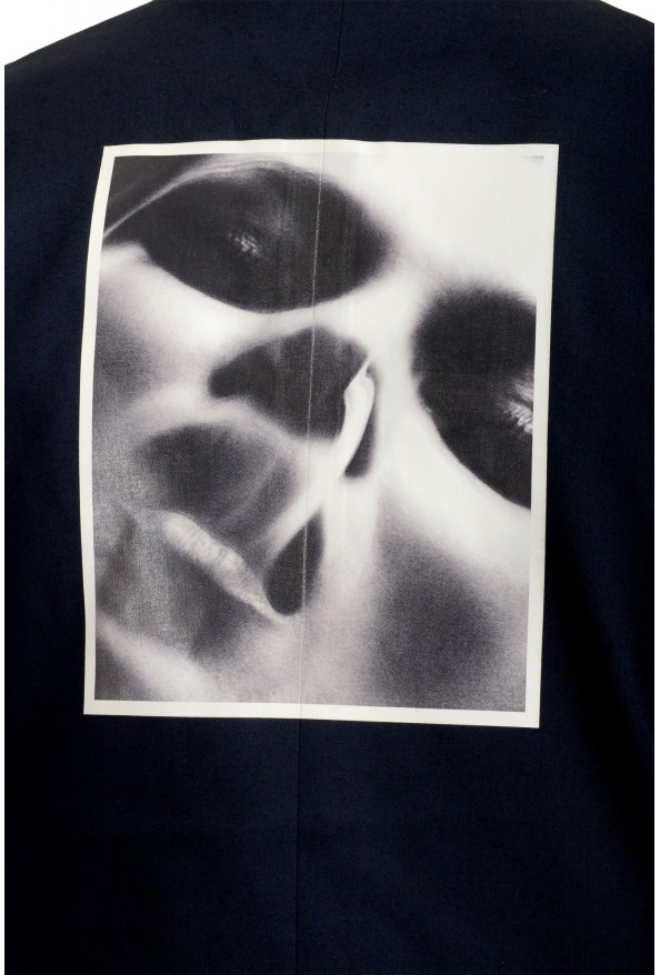 "Dsquared2 & ""Mert & Marcus 1994"" Men's 100% Wool Navy Blue Blazer: Picture 4"