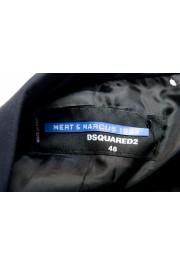 "Dsquared2 & ""Mert & Marcus 1994"" Men's 100% Wool Navy Blue Blazer: Picture 6"