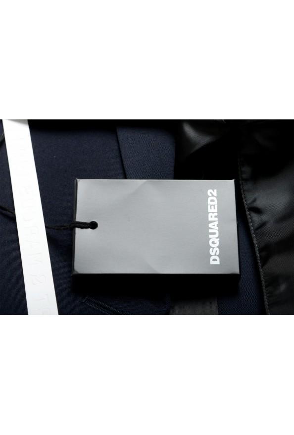 "Dsquared2 & ""Mert & Marcus 1994"" Men's 100% Wool Navy Blue Blazer: Picture 8"