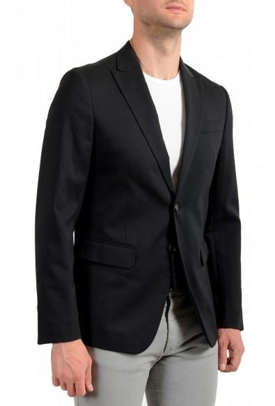 Dsquared2 Men's Black Wool Two Button Sport Coat Blazer: Picture 2