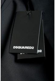 Dsquared2 Men's Black Wool Two Button Sport Coat Blazer: Picture 6