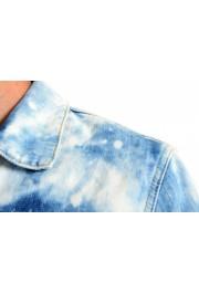 """Dsquared2 Men's """" Dan Jean"""" Acid Wash Button Down Denim Jacket: Picture 4"""