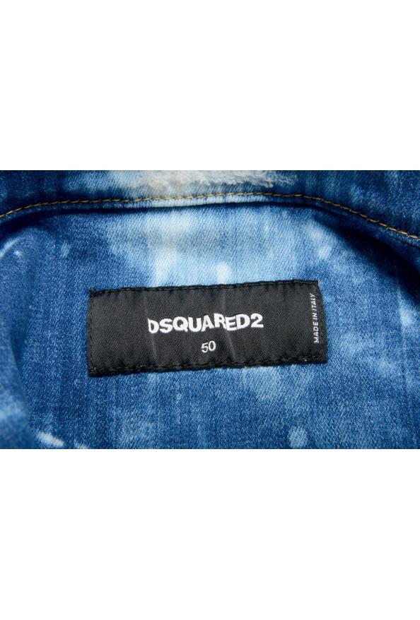 """Dsquared2 Men's """" Dan Jean"""" Acid Wash Button Down Denim Jacket: Picture 5"""