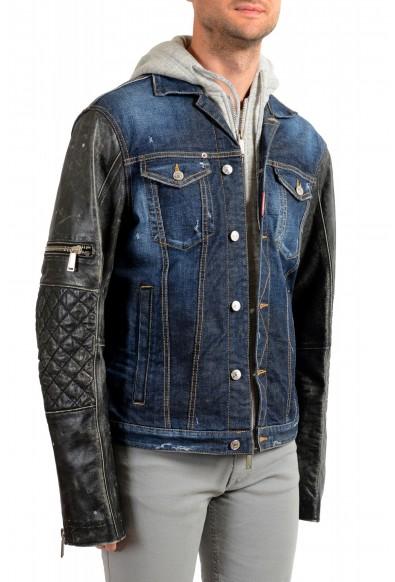 Dsquared2 Men's Denim Hooded Full Zip Jacket : Picture 2