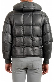 "Moncler Men's ""NIVELLE"" Gray Hooded Full Zip Down Parka Jacket: Picture 3"