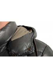"Moncler Men's ""NIVELLE"" Gray Hooded Full Zip Down Parka Jacket: Picture 4"
