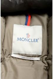 "Moncler Men's ""NIVELLE"" Gray Hooded Full Zip Down Parka Jacket: Picture 7"