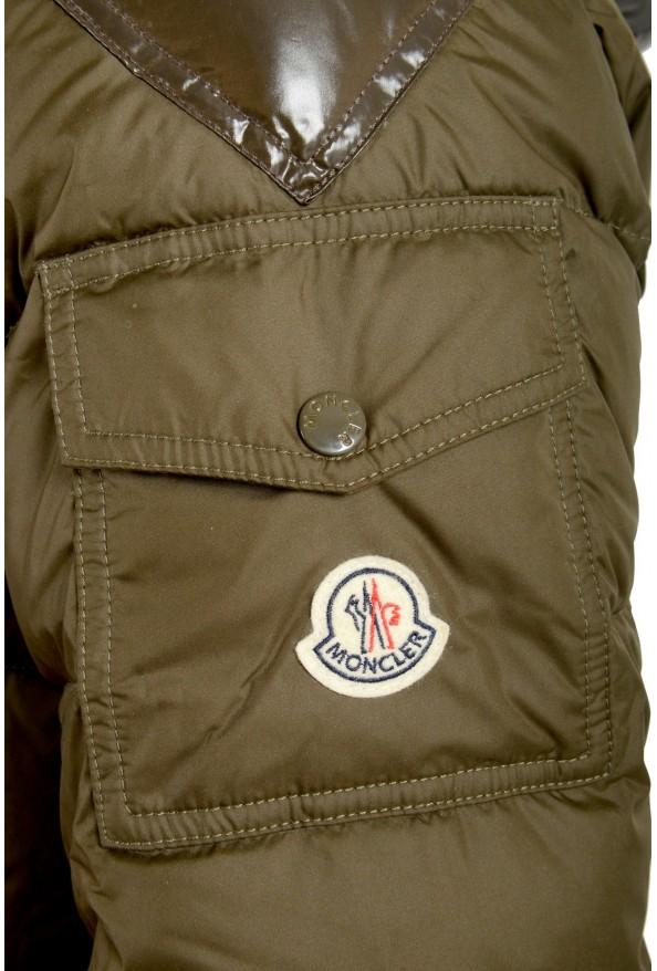 "Moncler Men's ""Chevalier"" Hooded Full Zip Down Parka Jacket: Picture 5"