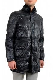 "Moncler Men's ""ERNEST"" Navy Blue Full Zip Down Parka Jacket: Picture 2"