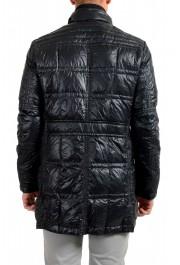 "Moncler Men's ""ERNEST"" Navy Blue Full Zip Down Parka Jacket: Picture 3"