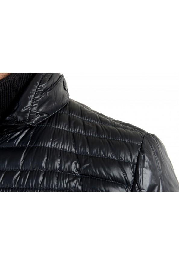 "Moncler Men's ""ERNEST"" Navy Blue Full Zip Down Parka Jacket: Picture 4"
