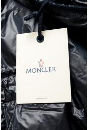 "Moncler Men's ""ERNEST"" Navy Blue Full Zip Down Parka Jacket: Picture 6"