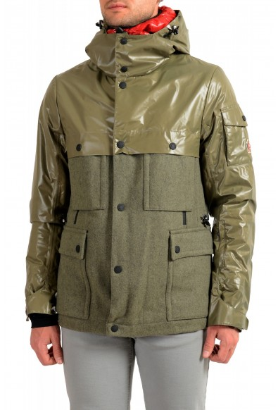 """Moncler Men's """"Breithorn"""" Hooded Full Zip Down Parka Jacket"""