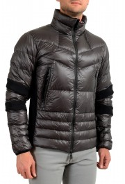 """Moncler Men's """"CANMORE"""" Gray Full Zip Down Parka Jacket: Picture 2"""