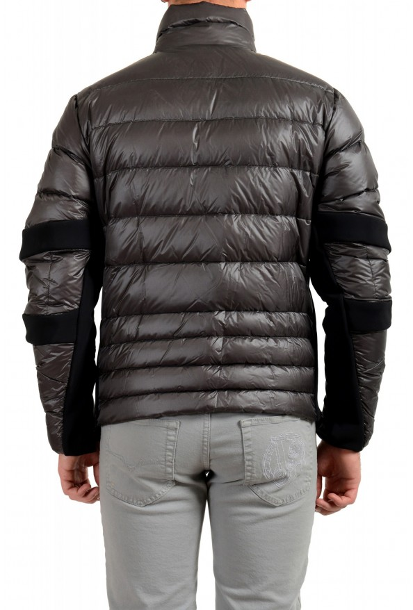 """Moncler Men's """"CANMORE"""" Gray Full Zip Down Parka Jacket: Picture 3"""