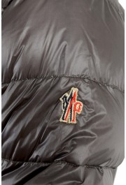 """Moncler Men's """"CANMORE"""" Gray Full Zip Down Parka Jacket: Picture 5"""