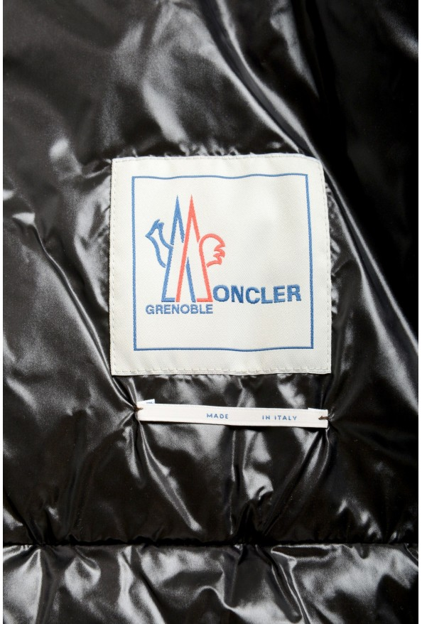 """Moncler Men's """"CANMORE"""" Gray Full Zip Down Parka Jacket: Picture 6"""