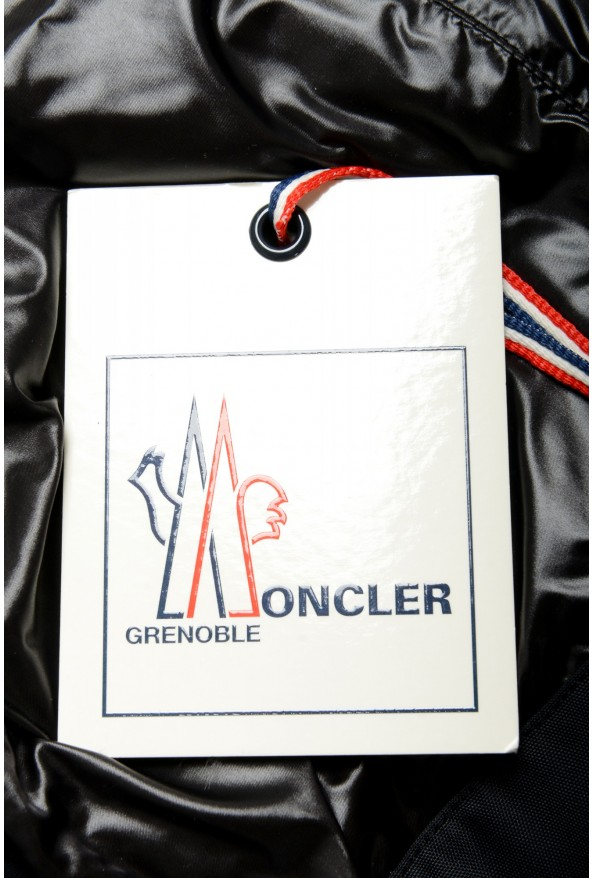 """Moncler Men's """"CANMORE"""" Gray Full Zip Down Parka Jacket: Picture 8"""