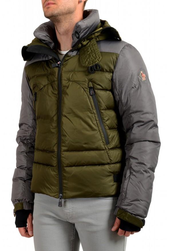 "Moncler Men's ""EIGER"" Full Zip Hooded Down Parka Jacket: Picture 4"