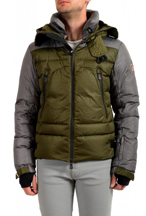 "Moncler Men's ""EIGER"" Full Zip Hooded Down Parka Jacket"