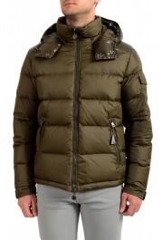 """Moncler Men's """"Chevalier"""" Hooded Full Zip Down Parka Jacket"""