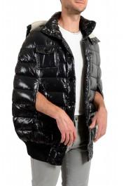 "Moncler Men's ""Nevers"" Navy Hooded Down Vest Cape Jacket: Picture 2"