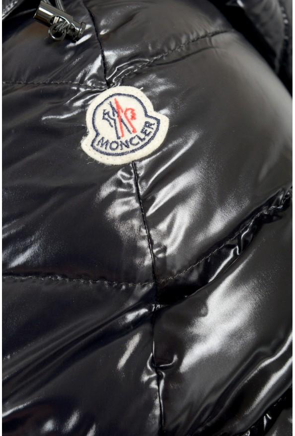 "Moncler Men's ""Nevers"" Navy Hooded Down Vest Cape Jacket: Picture 4"