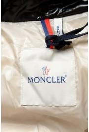 "Moncler Men's ""Nevers"" Navy Hooded Down Vest Cape Jacket: Picture 6"