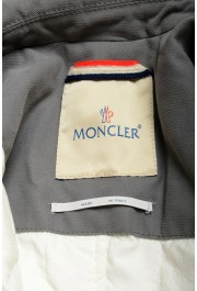 """Moncler Men's """"TOMA"""" Gray Down Insulated Vest Jacket: Picture 5"""