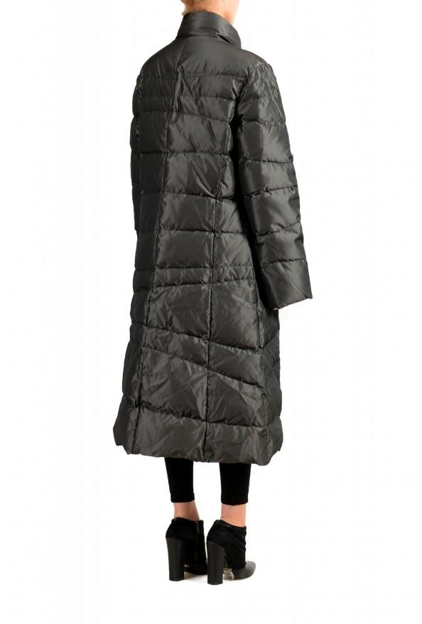 """Moncler Women's """"MONIQUE"""" Gray Full Zip Down Parka Jacket : Picture 3"""