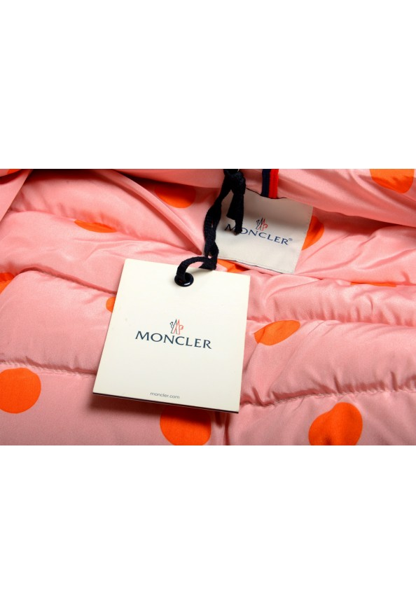 """Moncler Women's """"CARDERE"""" Pink 100% Wool Down Parka Jacket: Picture 10"""
