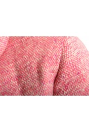 """Moncler Women's """"CARDERE"""" Pink 100% Wool Down Parka Jacket: Picture 6"""
