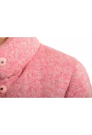 """Moncler Women's """"CARDERE"""" Pink 100% Wool Down Parka Jacket: Picture 7"""